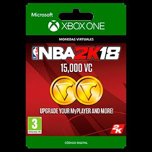 NBA 2K18: 15,000 VC XONE