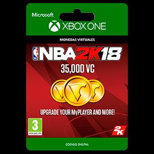 NBA 2K18: 35,000 VC XONE