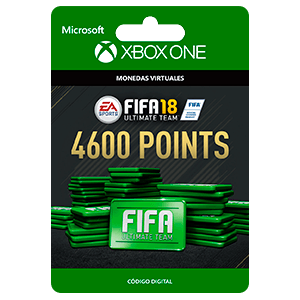 FIFA 18: Ultimate Team FIFA Points 4600 XONE
