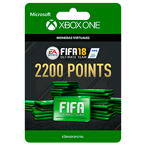 FIFA 18: Ultimate Team FIFA Points 2200 XONE