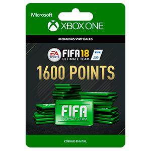 FIFA 18: Ultimate Team FIFA Points 1600 XONE