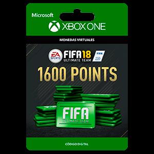 FIFA 18: Ultimate Team FIFA Points 1600 XONE