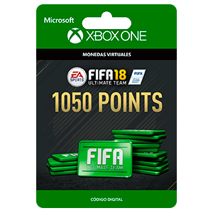 FIFA 18: Ultimate Team FIFA Points 1050 XONE