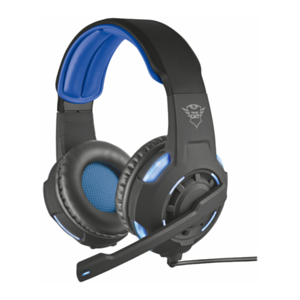 Trust GXT 350 Radius 7.1 USB LED Azul PC-PS4 - Auriculares Gaming