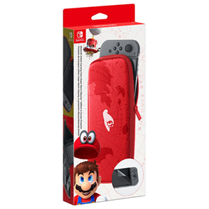 Set Accesorios Switch Super Mario Odyssey: Funda + Protector LCD