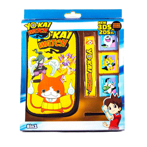 Kit 8 Accesorios New 2DSXL-3DSXL Yo-Kai Watch