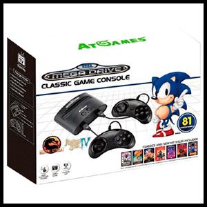 Consola Retro Sega Mega Drive Classic 2017 81 Juegos Electronica