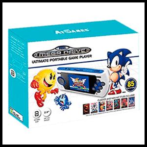 Consola Retro Mega Drive Ultimate Portátil 2017 (85 juegos)