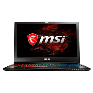 MSI GS63 7RE-048XES - i7-7700 - GTX 1050Ti - 16GB - 1TB HDD + 256GB SSD - 15.6'' - FreeDOS - Stealth Pro