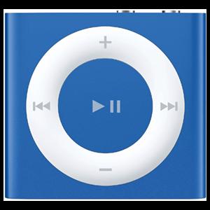 iPod Shuffle 2ª Gen 1Gb (Azul)