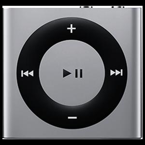 iPod Shuffle 4ª Gen 2Gb Plata