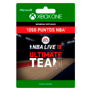 NBA LIVE 18: NBA UT 1050 Points Pack XONE
