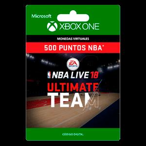 NBA LIVE 18: NBA UT 500 Points Pack XONE