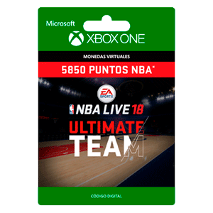 NBA LIVE 18: NBA UT 5850 Points Pack XONE
