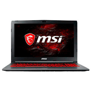 MSI GV62 7RE-1614ES - i7-7700 - GTX 1050Ti - 16GB - 1TB HDD + 128GB SSD - 15.6'' - W10
