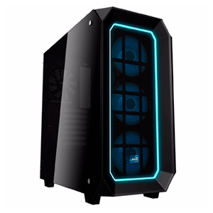 Aerocool P7C0 Pro Negra RGB - Cristal Templado