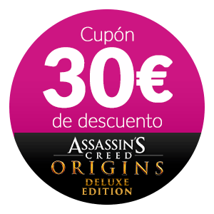30€ Dto. Assassins Creed Origins Deluxe Edition