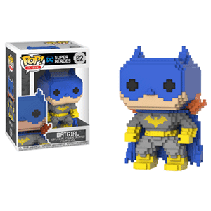 Figura Pop 8-Bit: Classic Batgirl Blue