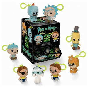 Peluche Mystery Mini: Rick y Morty