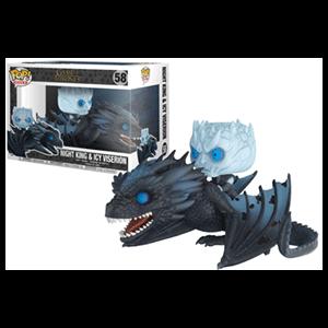 Figura Pop Juego de Tronos: Rey de la Noche en Dragón