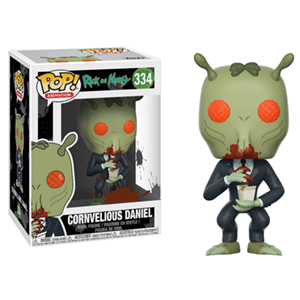 Figura Pop Rick y Morty: Cornelius Daniel