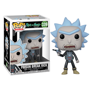 Figura Pop Rick y Morty: Prison Escape Rick