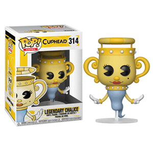 Figura Pop Cuphead: Legendary Ghost