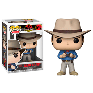 Figura Pop Jurassic Park: Dr. Alan Grant