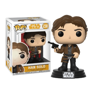 Figura Pop Star Wars Han Solo: Han Solo