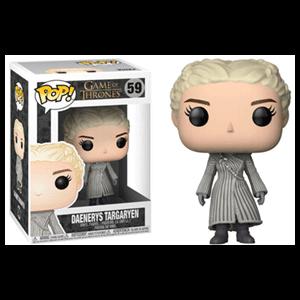 Figura Pop Juego de Tronos: Daenerys con Abrigo Blanco