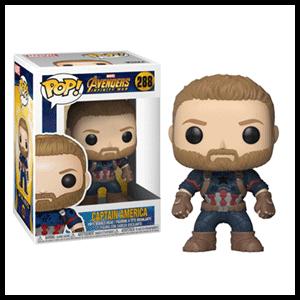 Figura Pop Vengadores La Guerra del Infinito: Capitán América