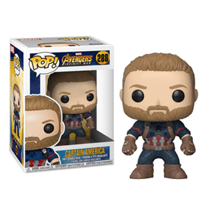 Figura Pop Vengadores Infinity War: Capitán América