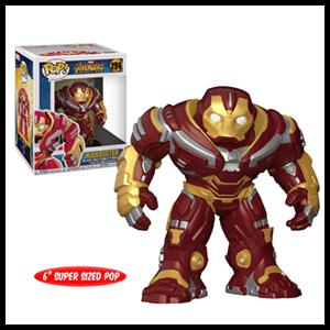 "Figura Pop Vengadores Infinity War: Hulkbuster 6"""