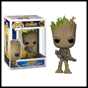 Figura Pop Vengadores Infinity War: Groot