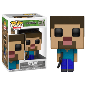 Figura Pop Minecraft: Steve