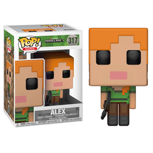 Figura Pop Minecraft: Alex