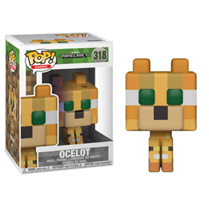 Figura Pop Minecraft: Ocelot