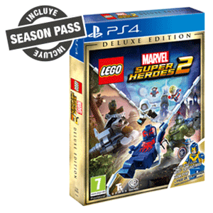 Lego Marvel Super Heroes 2 Deluxe Playstation 4 Game Es