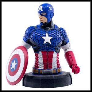 Busto de Resina MARVEL: Capitán América