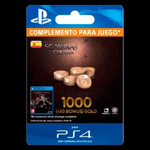 Tierra Media: Sombras de Guerra - 1050 Gold PS4