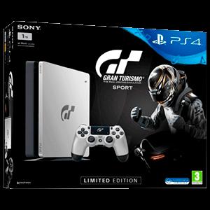 PlayStation 4 Slim 1Tb Edición Limitada + Gran Turismo Sport
