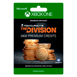 Tom Clancy's The Division: Currency pack 2400 Premium Credits XONE