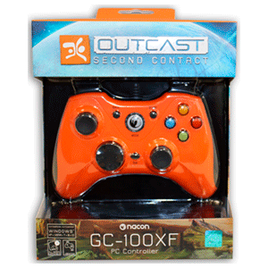 Outcast Second Contact PC Digital + Controller GC-100XF