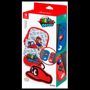 Mario Odyssey Starter Kit Hori -Licencia oficial-