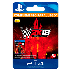 WWE 2K18 Season Pass PS4