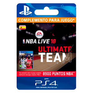 NBA Live 18 Ultimate Team - 8900 NBA Points PS4