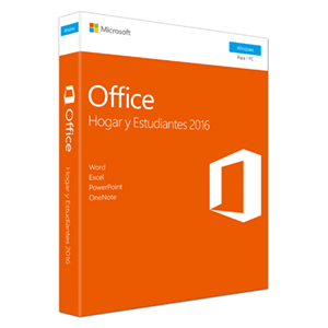 Microsoft Office Hogar y Estudiantes 2016 - Licencia Perpetua - 1 PC Windows