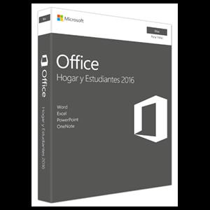 Microsoft Office Hogar y Estudiantes 2016 - Licencia Perpetua - 1 Mac