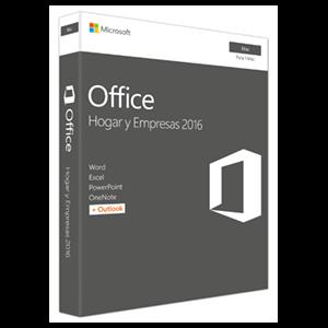 Microsoft Office Hogar y Empresas 2016 - Licencia Perpetua - 1 Mac