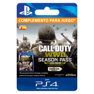 Call of Duty WWII - Season Pass PS4